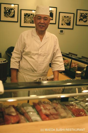 Owner/Chef YasuoMaeda